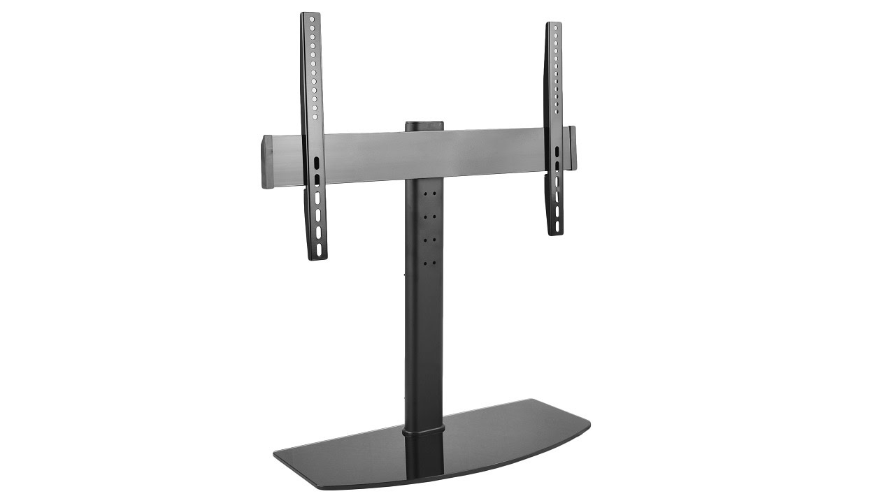"""Swivel Universal Base Table Top TV Stand W// Mount for 27-65/"""" LED LCD Flat Screen"""