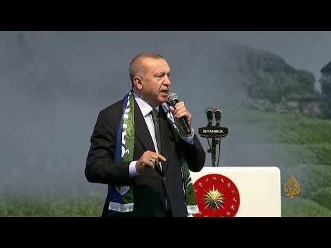 #أردوغان: سنستأنف عمليتنا العسكرية بشمال #سوريا في حال خرق الاتفاق مع واشنطن  - نشر قبل 4 ساعة