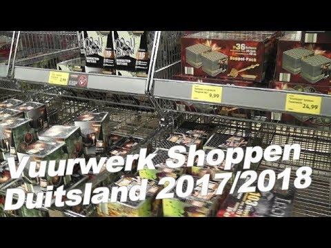 Vuurwerk Shoppen Duitsland 2017/2018