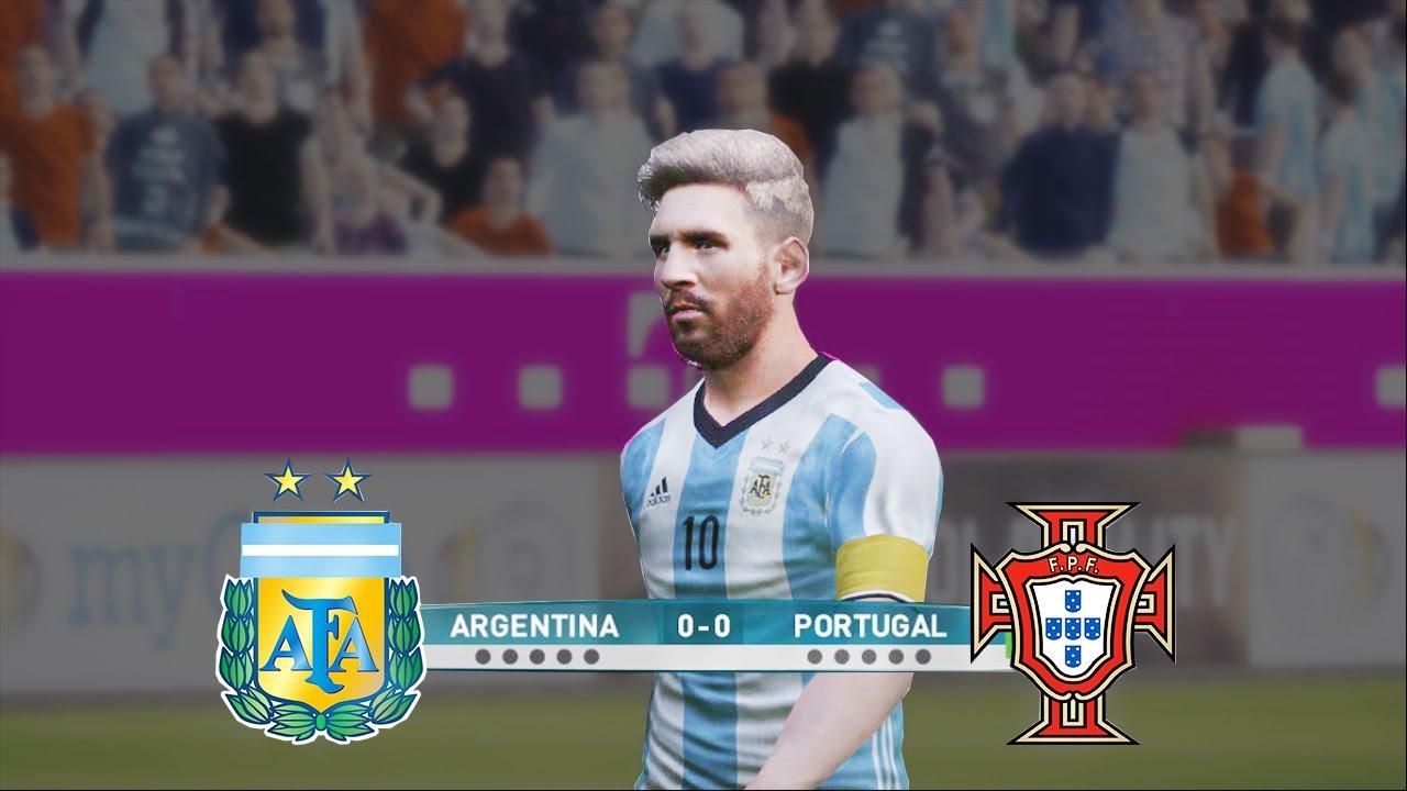 PES 2017 | ARGENTINA VS PORTUGAL | PENALTY SHOOTOUT | HD
