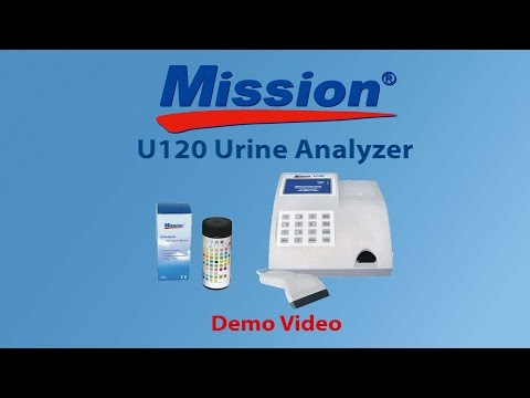ACON Labs - Mission U120 Urine Analyzer Demo Video
