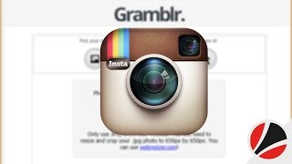 شرح برنامج Gramblr لرفع الصور الي انستجرام عن طريق جهاز الكمبيوتر