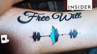 Soundwave Tattoos: Audible Body Art
