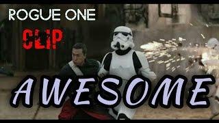 Rogue One - Chirrut Îmwe vs Stormtrooper |Star Wars| Fight Scene HD