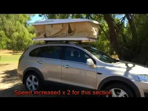 Madcamp Roof Top Tent Electric Roof Top Camper Youtube