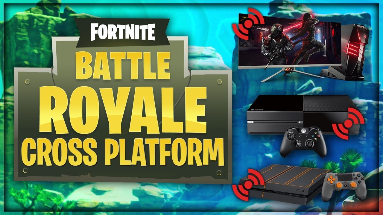 fortnite how to play cross platform pc ps4