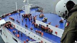 Операция по спасению пассажиров парома