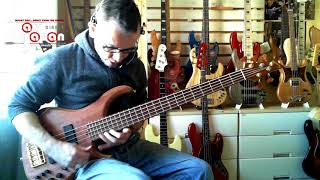 the superb Moon Climb is a modern 5 string that is up there with th...