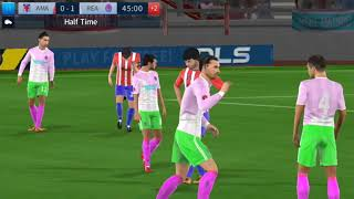 Global Challenge cup final A Madrid vs Real Madrid Dream League Soccer 2018 Android Gameplay #111