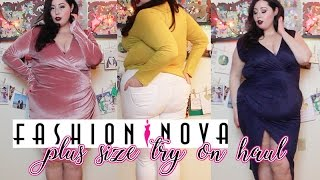 Fashion Nova Curve | Plus Size Try On Haul