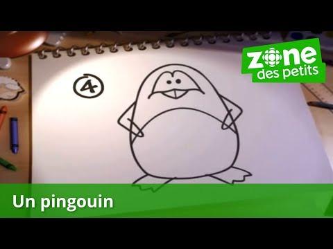 Dessine moi un pingouin rasta dm 2 doovi - Apprendre a dessiner un pingouin ...