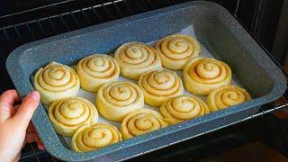 Рецепт который покорил интернет Ароматные булочки с корицей и сливочным сыром Cookrate Русский