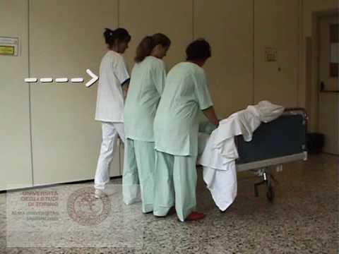 Etac posizionamento laterale del paziente allettato - Mobilizzazione paziente emiplegico letto carrozzina ...