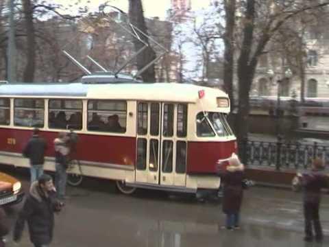 Парад трамваев 100 лет