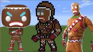 Fortnite Merry Marauder Peau Minecraft Pixel Art