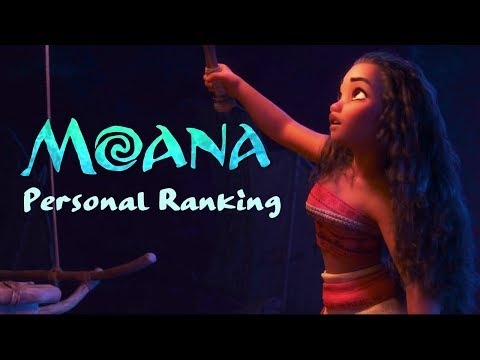 Personal ranking - Moana [46 voices]