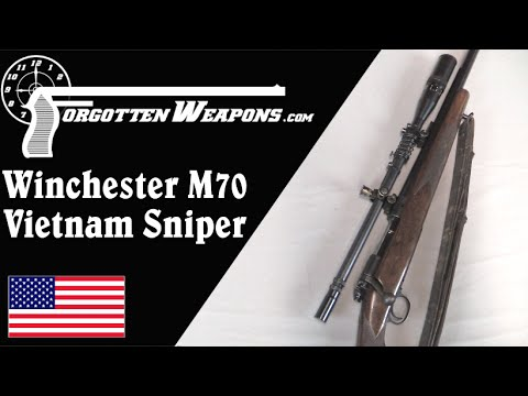 USMC Winchester 70 Sniper - Vietnam Era