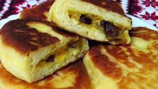 Очень вкусные пирожки с необычного теста . Рецепты Алины.