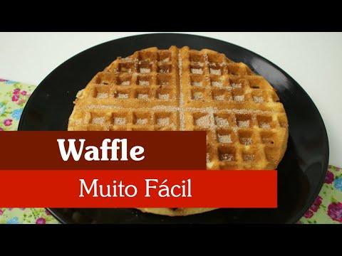 COMO FAZER WAFFLE DE UM JEITO MUITO FÁCIL!