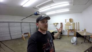 Vlog #1 - Shop Tour, New Dust Collector?? Blast Gates