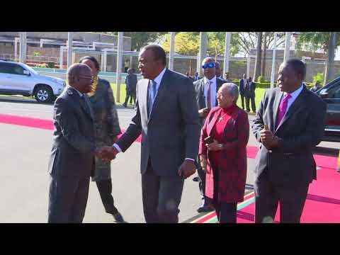 President Uhuru attends Kagame's...