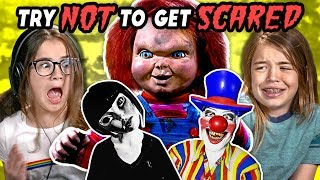 Download Kids React To Try Not To Get Scared Challenge #2 Mp3 and Videos