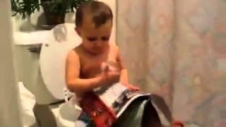 """طفل مضحك جدا فى الحمام""""Funny Baby """""""