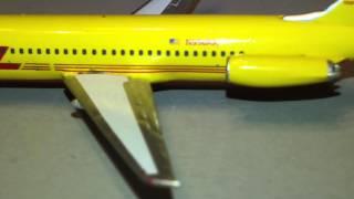 Review: Sky 500 DHL McDonnell Douglas DC-9-41 Reg. N958AX 1/500 Scale