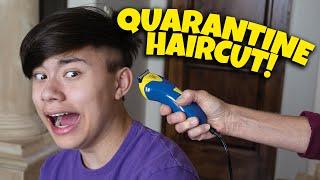 MY DAD GAVE ME A QUARANTINE HAIRCUT AND SHAVED MY HEAD - FAIL!!!