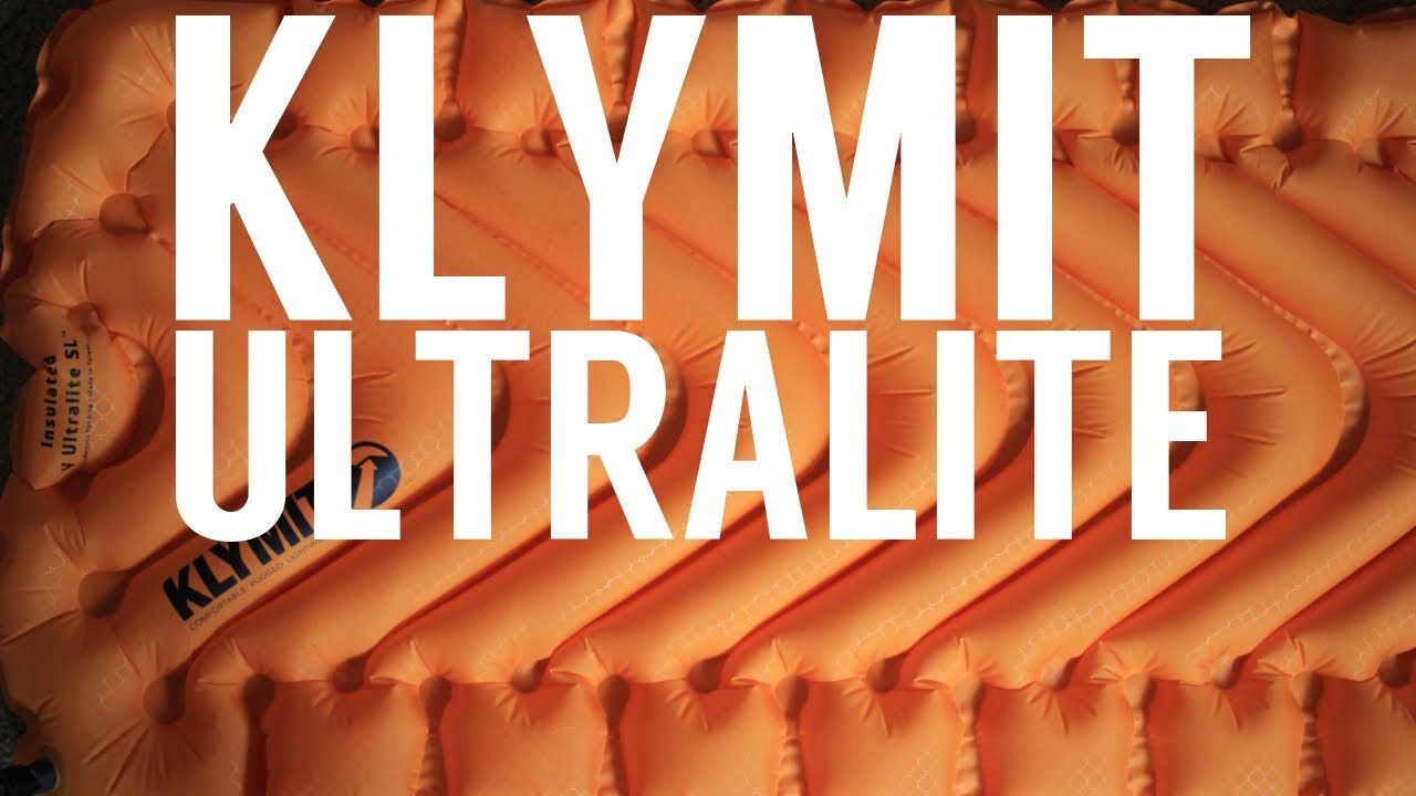 Klymit Insulated V Ultralite Sl Sleeping Pad Review Youtube