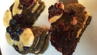Сыроедческие блины (оладьи) или сыроедческий блинный торт