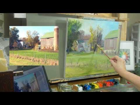 TomFisherArt 28 Ye Old Farmstead Final Stages in Demo Part 2 of 2