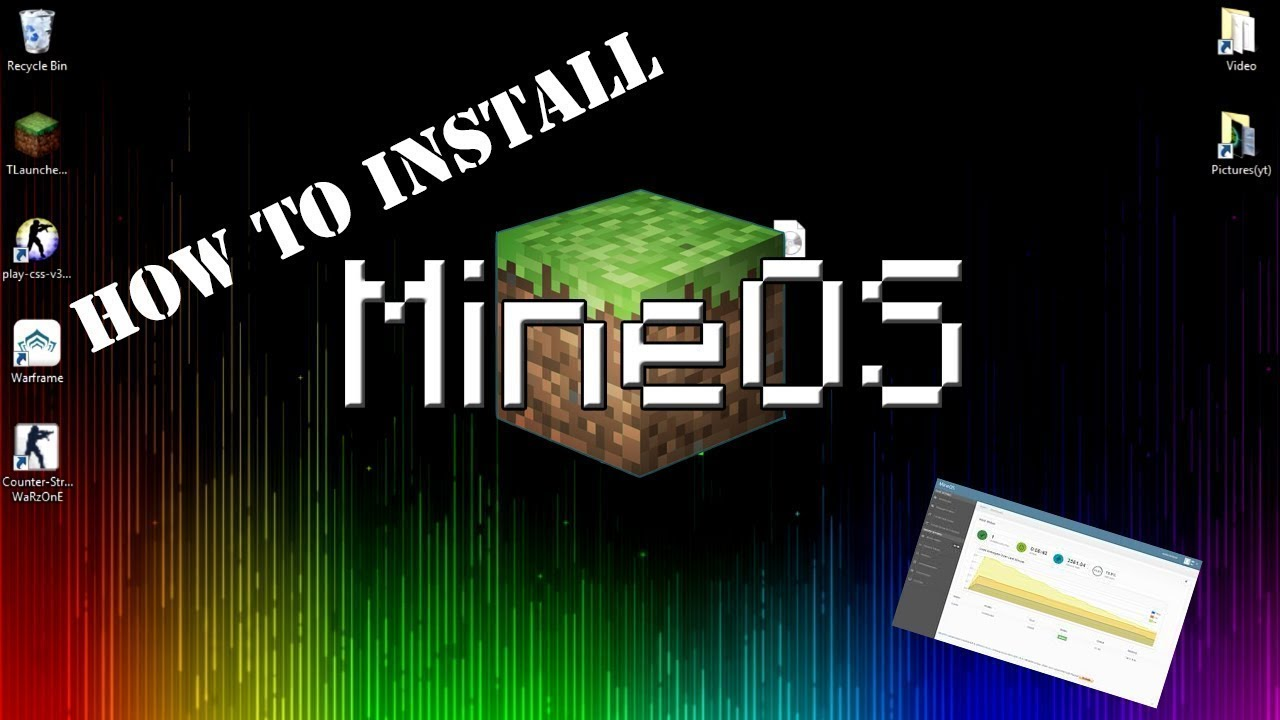 How to make a Minecraft server / How to install MineOs
