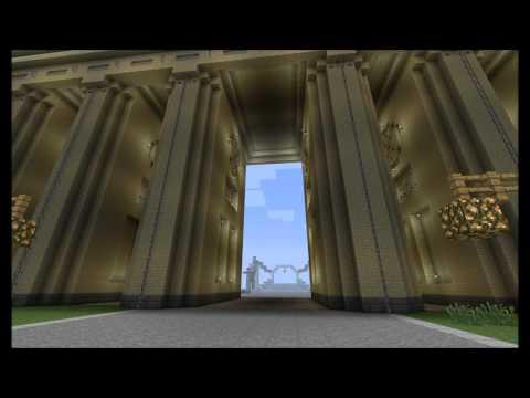Minecraft - Das Brandenburger Tor - Brandenburg Gate [HD]