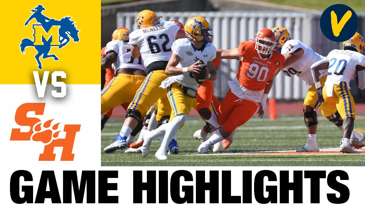 McNeese vs #5 Sam Houston State Highlights | FCS 2021 Spring College Football Highlights