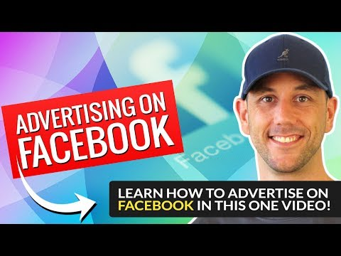Advertising on Facebook - Learn How To Advertise On Facebook In This One Video!
