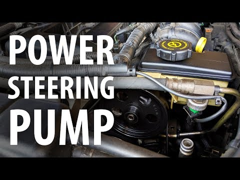 How to: Replace power steering pump and flush PS fluid (Ford, Duratec HE, Mondeo)