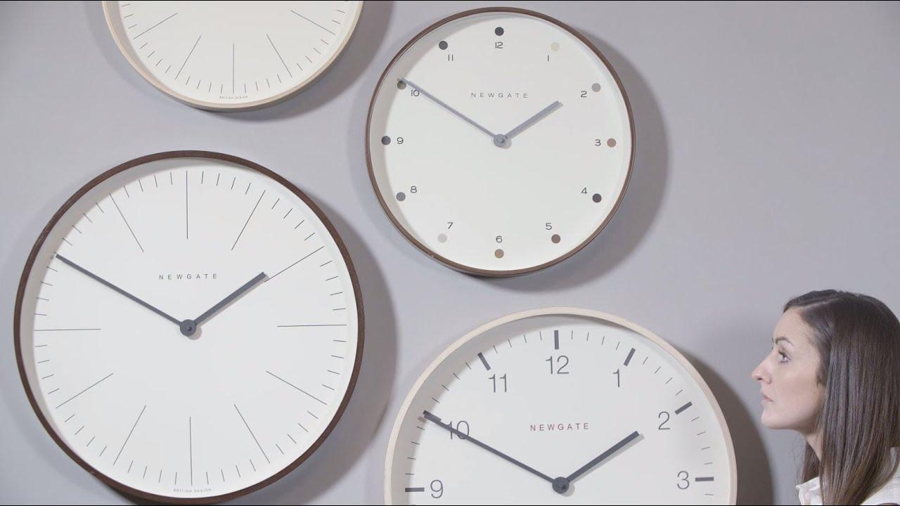 The Mr Clarke wall clocks in u0027Lady