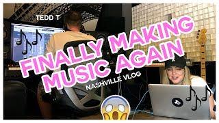 FINALLY MAKING MUSIC AGAIN! - Nashville Vlog