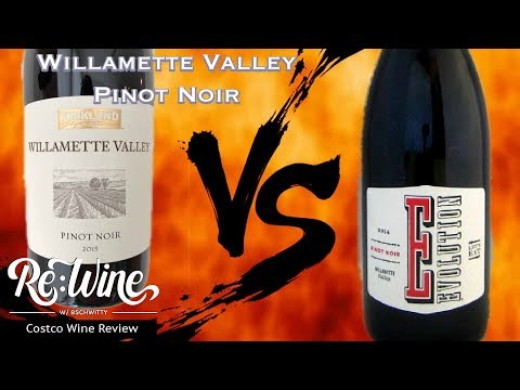 Kirkland Signature Willamette Valley Pinot Noir | Re:Wine w/bschwitty | Costco Wine Review