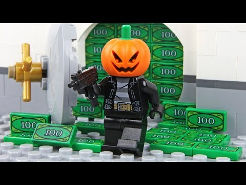 Lego Halloween - The Bank Robbery
