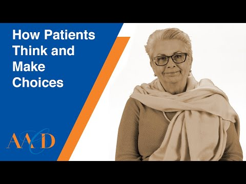 How Patients Think And Make Choices - LESSON 1