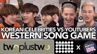 Korean Celebrities Sing Best Western Pop Songs ft. BOYS24