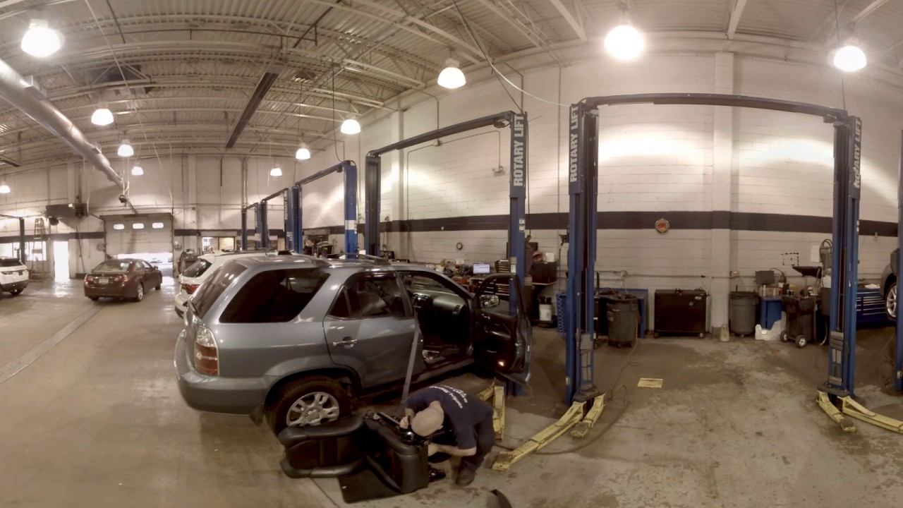 Open Road Acura of East Brunswick Service 360 - YouTube