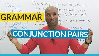 English Grammar: Correlative Conjunctions (NEITHER & NOR, EITHER & OR, BOTH & AND...)