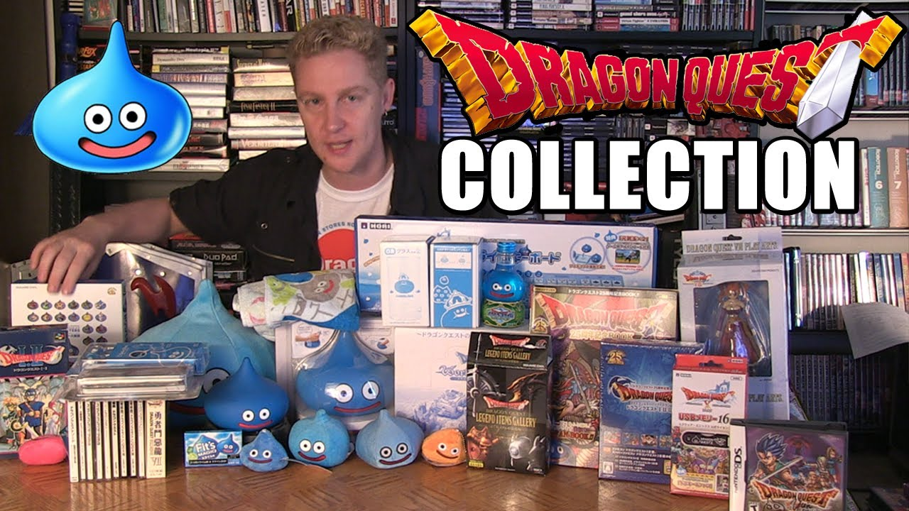 dragon quest collection happy console gamer youtube