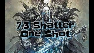 WOW FROST DK 7.3  ARENA SHATTERING ONE SHOT BUILD