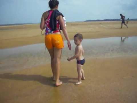 Praia do Meio em Brasilia Legal-PA