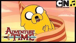 Adventure Time Bacon Pancakes Song | Cartoon Network