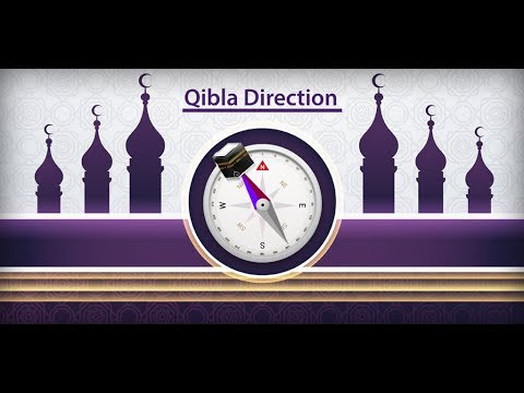 Qibla Direction Finder Prayer Times Azan Alarm App